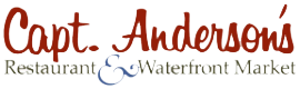 Capt. Anderson's Restaurant and Market logo in Panama City Beach Florida