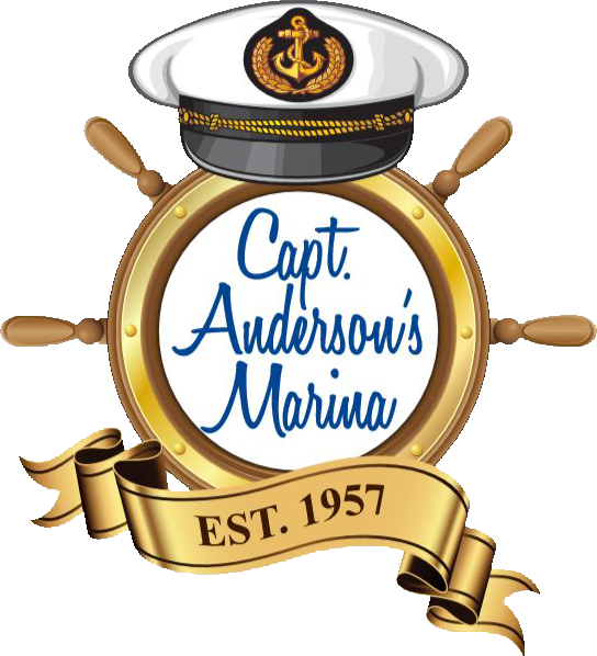 Capt. Anderson's Marina logo in Panama City Beach Florida